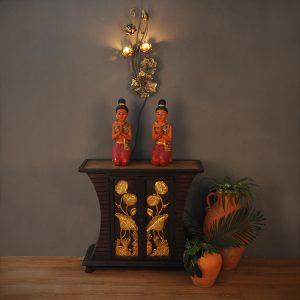 Đèn Tường hình hoa sen( rèn sắt thủ công)
