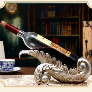 giá rượu hình lá
