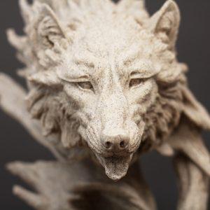 Đầu sói decor