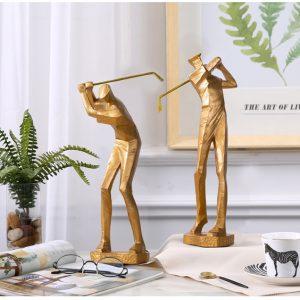 mô hình golf điêu khắc.