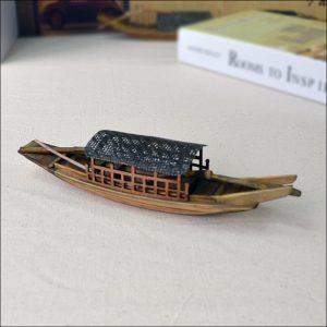 mô hình thuyền nan nhỏ