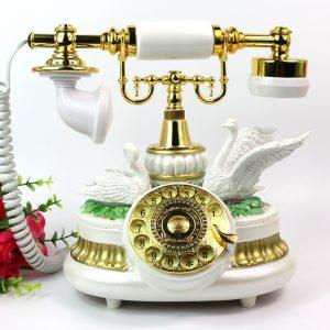 điện thoại vintage gắn đôi thiên nga
