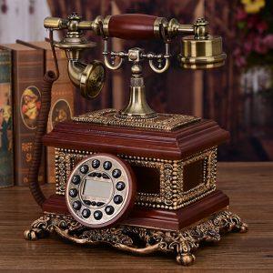 sáng tạo continental điện thoại cổ điển retro