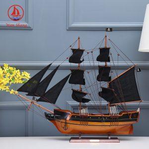 thủ công gỗ thủ công trang trí thuyền buồm- HÀNG ODER.