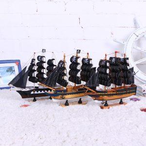 Tàu cướp biển 24CM đi thuyền trong phong cách biển trang trí- HÀNG ODER
