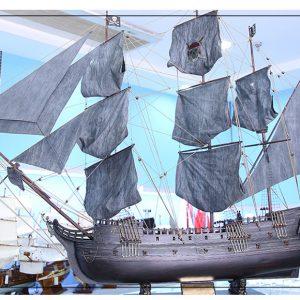 Black Pearl mô hình thuyền thủ công bằng gỗ tàu cướp biển – HÀNG ODER