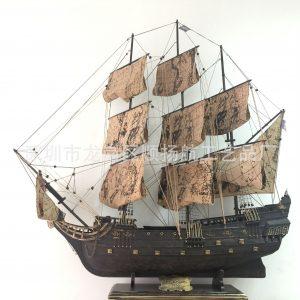 Mô hình tàu cướp biển Black Pearl kiểu cũ – HÀNG ODER